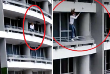 ¡SANTO DIOS! Mujer perdió la vida tras caer desde un piso 27 mientras se tomaba una selfie (+Video impactante)