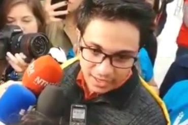 ¡CONMOVEDOR! Lorent Saleh a su llegada a España: No pensé que este momento iba a llegar, soy libre (+Video)