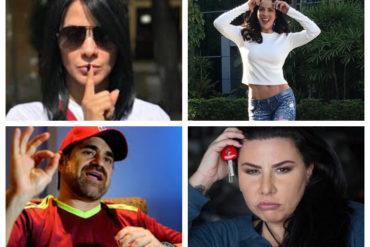 """¡NO CONTROLAN LA SIN HUESO! Las figuras públicas venezolanas que se han metido en problemas por sus ataques de """"lengua"""" (+Videos)"""