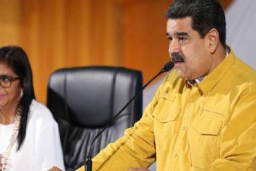 """¡SE HACE EL OFENDIDO! Maduro tilda de """"barrabasada"""" estimaciones del FMI que pronosticó inflación de 10.000.000% en 2019 (+Video)"""