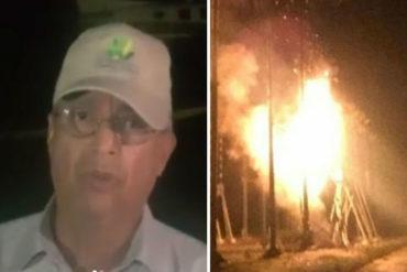"""¡ATENCIÓN! Motta Domínguez sobre mega apagón: """"Fue motivado a una explosión"""" (restablecerán el servicio en 3 horas)(+Video)"""