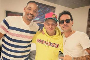 ¡QUÉ ÉXITO! Oscarcito está preparando una sorpresa junto a Will Smith y Marc Anthony (+Se prendió)