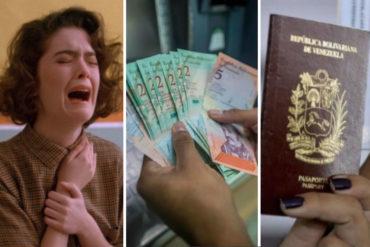 ¡ABSURDO! Un venezolano deberá trabajar 4 meses para pagar 1 pasaporte (Conozca los detalles+Video)