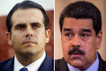 """¡ESO DOLIÓ! Gobernador de Puerto Rico a Maduro: """"Rechazamos los crímenes y violaciones a los derechos humanos de su dictadura"""""""