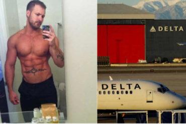 ¡ESCÁNDALO! Una estrella porno fue grabada teniendo sexo con un tripulante en pleno vuelo