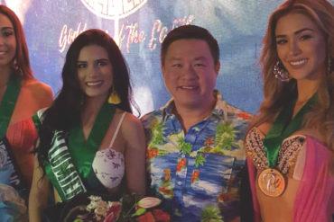 ¡MATANDO LA LIGA! Diana Silva ganó la primera medalla durante su participación en Miss Earth (de oro en competencia de traje de baño)