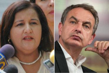 """¡TOMA! El tapón de boca de esta diputada a Zapatero: """"Guárdese sus miserables opiniones"""""""