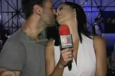 ¡PECHUGO OFICIAL! Norkys Batista presentó ante las cámaras de un programa de TV a su novio (+Video + piquito)