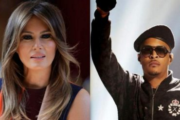 """¡QUÉ FUERTE! Rapero publica polémico video que muestra a """"Melania Trump"""" como una exótica striper en la Casa Blanca"""