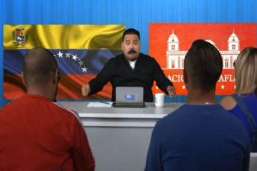 ¡IMPERDIBLE! La parodia de Maduro y su negativa a contestar preguntas incómodas que te hará reír (+Video)
