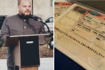¡PA' QUE SIGA! Canadá habría revocado visa diplomática a viceministro rojito (participaba en gira para hacer proselitismo político)