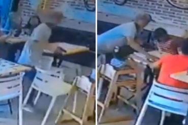 ¡HAMPA DESATADA! A plena luz del día robaron una panadería en Margarita (+Video indignante)