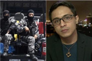 ¡ATERRADOR! Las impactantes revelaciones que hizo Lorent Saleh sobre el Sebin: Tienen gente secuestrada en casas clandestinas