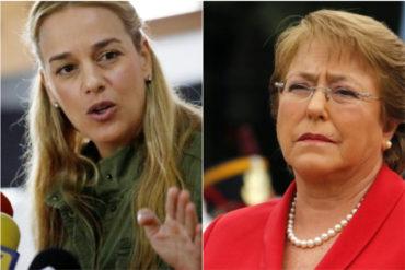 """¡CONTUNDENTE! Tintori a Bachelet: """"Usted tiene el compromiso internacional, moral y ético de visitar Venezuela"""""""