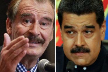 ¡DE FRENTE! Vicente Fox pide a López Obrador retirar invitación a Maduro: Te arriesgas a que un juez ordene su detención aquí (+Video)