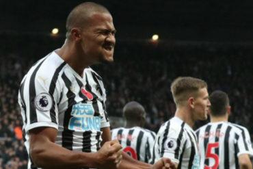 ¡CRACK INFINITO! Salomón Rondón marcó 2 tantos y llegó a 26 goles en la Premier League (hazaña histórica)