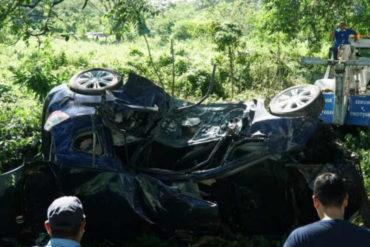 ¡TRÁGICO! Murió un chef venezolano al estrellarse contra un árbol en Honduras