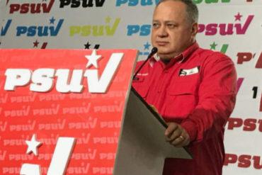 """¡LO ÚLTIMO! Cabello anunció que el oficialismo hará tres contramarchas el #23Ene: """"Vamos a ver quién cumple, ellos o nosotros"""" (+Video)"""