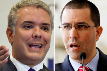 """¡SEPA! Arreaza dice que Duque """"miente escandalosamente"""" sobre auspicios de Maduro al ELN: """"Debería ponerse los pantalones y cumplir con su pueblo"""""""