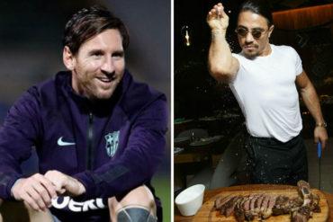 ¡PÍLLALO! Lionel Messi se dio su gustico y visitó el restaurante de Salt Bae (comió lo mismo que Nico)(+Fotos)