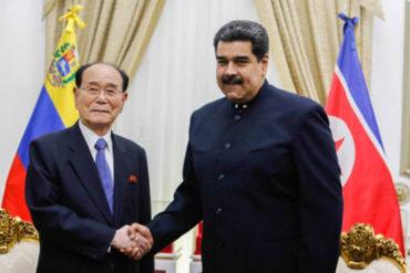 ¡SÉPALO! Maduro se reunió en privado con el presidente de la Asamblea de Corea del Norte
