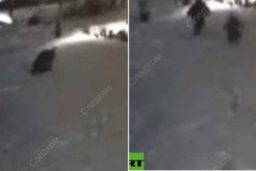 ¡TERRIBLE! Una niña de 10 años se salva de ser violada por un hombre que la asaltó en plena calle (+Video)