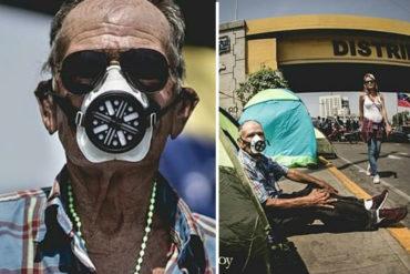 ¡TRISTE NOTICIA! Murió don Ismael, el abuelo que acompañaba a los estudiantes en las protestas