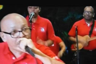 ¡PENA AJENA! La ridícula actuación de estos gaiteros chavistas durante el programa de Diosdado (+Video)