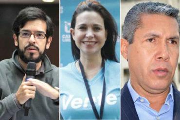 """¡CLARO! Miguel Pizarro: """"En política no se puede llegar a los extremos de María Corina y Henri Falcón"""""""