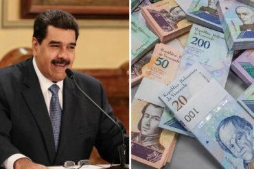 ¡NO VE LUZ! El bolívar se devaluó 9,17% tras anuncios económicos de Maduro