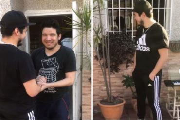¡EMOCIONANTE! Regresó a Venezuela para sorprender en su cumpleaños a su hermano gemelo ciego (+Video que te estremecerá)