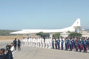 ¡SUSTO! Así son los bombarderos que envió Rusia a Venezuela (tienen capacidad para transportar armas nucleares)