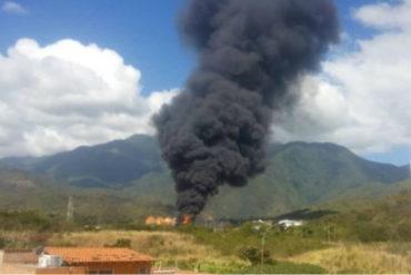 ¡URGENTE! Reportan 6 heridos de gravedad por explosión en Planta de Llenado de PDVSA en Guatire (+Fotos +Videos)