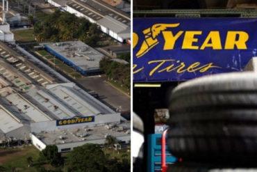 ¡OTRO QUE SE VA! Tras 62 años, Goodyear anunció cierre de sus operaciones en Venezuela (+carta a trabajadores)
