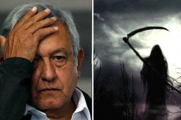 """¡ZAPE GATO! Esta famosa vidente asegura que el """"ángel de la muerte"""" está sobre López Obrador"""