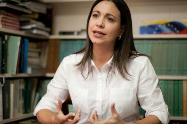 """¡CONTUNDENTE! María Corina Machado: """"Necesitamos un liderazgo que no se raje a la hora de la chiquita"""""""