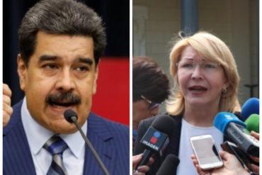 ¡SIN ANESTESIA! Luisa Ortega: Para mí, Maduro no es presidente, es un presidente ilegítimo, inconstitucional (+Video)