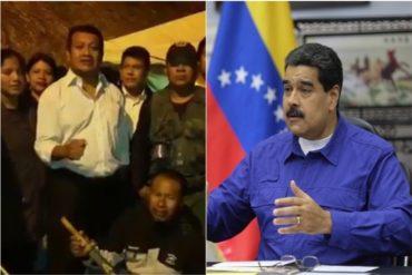¡SÓBATE! Cacique pemón descarga con todo a Maduro: Fuera de aquí Nicolás porque tú eres colombiano (+Video)