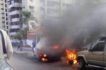 ¡ALERTA! Delincuentes lanzaron granadas en nuevo enfrentamiento con la PNB (+Video)