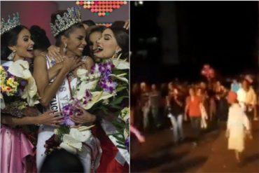 ¡PURA FELICIDAD! Petareños celebraron con orgullo la victoria de Isabella Rodríguez en el Miss Venezuela 2018 (+Video)