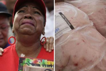¡LA ESTAFA DEL AÑO! Venezolanos denuncian que gobierno quiso engañarlos con hueso y grasa en vez de pernil