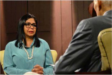 """¡PENDIENTE! Delcy Rodríguez advierte de nuevos anuncios económicos: Habrá """"sorpresas"""" que nadie imagina"""