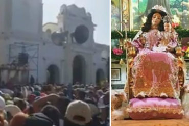 "¡EMOTIVO! El grito unísono que se escuchó durante la misa de la Divina Pastora: ""Libertad, libertad"" (+Video)(+Amén)"