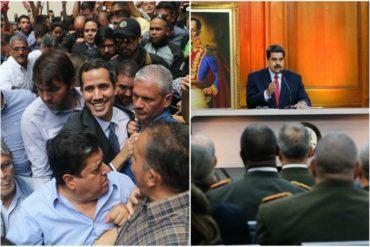"¡SÉPALO! Guaidó: ""En Miraflores creen que este movimiento se va a desinflar, aquí nadie se cansa, aquí nadie se rinde"" (+Video)"