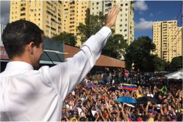 """¡LLENOS DE ESPERANZA! """"Si se puede"""", así recibieron a Guaidó en Cabildo Abierto de Caricuao este #19Ene (+Video)"""