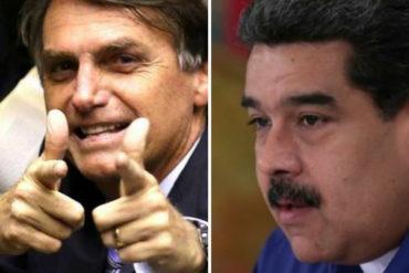 """¡ATENTOS! El bombazo que soltó Bolsonaro tras reunirse con la oposición venezolana: """"La solución llegará en breve"""""""
