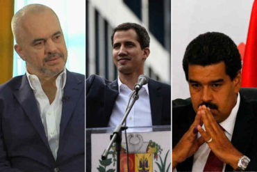 ¡MÁS APOYO! Albania reconoce a Juan Guaidó como Presidente Encargado de Venezuela