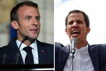 """¡SEPA! Francia denuncia """"acelerada degradación"""" humanitaria en Venezuela y reitera apoyo a Guaidó"""