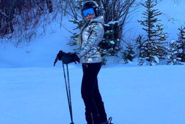 ¡EN TRAJE DE EVA! Exesposa de Oscarcito se desnudó en la nieve y calentó las redes al mostrar esta foto (¡muchacha!)