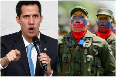 ¡CONTUNDENTE! Guaidó a las FANB: No les pedimos que den un golpe de Estado, sino que no nos disparen (+Video)